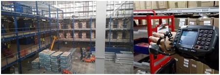 a4de4bd35 Práca v novom modernom distribučnom textilnom sklade - Veľká Británia